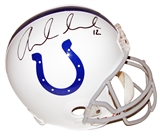 Andrew Luck Autographed Indianapolis Colts Full Size Replica Helmet (Panini Authentics)