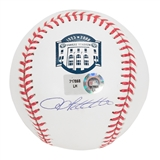 Andy Pettitte Autographed NY Yankees Official MLB Stadium Baseball (Steiner)