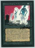 Magic the Gathering Beta Artist Proof Paralyze - SIGNED BY ANSON MADDOCKS