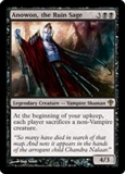Magic the Gathering Worldwake Single Anowon, the Ruin Sage UNPLAYED (NM/MT)