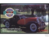 Antique Cars Hobby Box (1992 Panini)