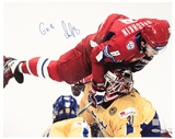 Alexander Ovechkin Autographed Team Russia Sochi Olympic 16x20 Photo (Ovechkin Hologram)