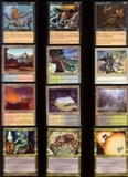 Magic the Gathering Apocalypse Near-Complete Set (missing 3 cards) NEAR MINT/SLIGHT PLAY