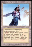 Magic the Gathering Arabian Nights Single Island of Wak-Wak LIGHT PLAY (NM)