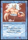 Magic the Gathering Arabian Nights Single Serendib Efreet UNPLAYED (NM/MT)