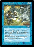 Magic the Gathering Alliances Single Arcane Denial (Ver. 2) UNPLAYED (NM/MT)