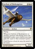 Magic the Gathering Worldwake Single Archon of Redemption FOIL