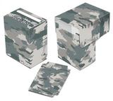 Ultra Pro Camouflage Arctic Full View Deck Box - Regular Price 2.99 !!!