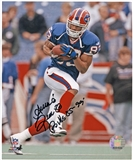Andre Reed Autographed Buffalo Bills 8x10 Football Photo with inscription