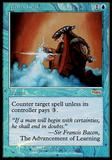 Magic the Gathering Promo Single Mana Leak Foil (DCI) - NEAR MINT (NM)