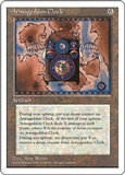 Magic the Gathering 4th Edition Single Armageddon Clock UNPLAYED (NM/MT)