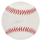 Alex Rodriguez Autographed Official MLB Baseball (Steiner)