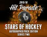 2015/16 Hit Parade Stars of Hockey Autographed Hockey Puck Edition Box - Series 2