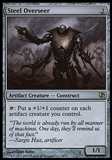 Magic the Gathering 2011 Single Steel Overseer - SLIGHT PLAY (SP)