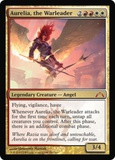 Magic the Gathering Gatecrash Single Aurelia, the Warleader - NEAR MINT (NM)