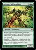Magic the Gathering Worldwake Single Avenger of Zendikar Foil - SLIGHT PLAY (SP)