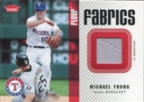 2006 Fleer Fabrics #MY Michael Young Jersey