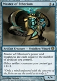 Magic the Gathering Shards of Alara Single Master of Etherium Foil