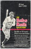 1992 Megacards The Babe Ruth Collection Baseball Box