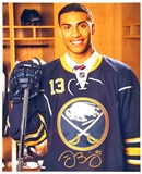 Justin Bailey Autographed Buffalo Sabres 8x10 Hockey Photo