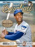 2015 Beckett Baseball Monthly Price Guide (#109 April) (Ernie Banks)