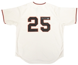 Barry Bonds Autographed San Francisco Giants Home Jersey (Bonds COA)