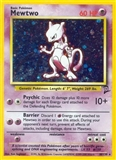 Pokemon Base Set 2 Single Mewtwo 10/130 - SLIGHT PLAY (SP)