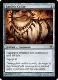 Magic the Gathering Worldwake Single Basilisk Collar UNPLAYED (NM/MT)