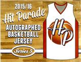 2015/16 Hit Parade Autographed Basketball Jersey Hobby Box - Series 5   Kevin Durant & Klay Thompson!!!