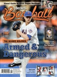 2015 Beckett Baseball Monthly Price Guide (#110 May) (Jacob DeGrom)