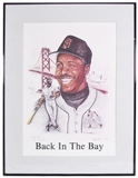 Barry Bonds Autographed & Framed San Francisco Giants Lithograph (Back in the Bay)