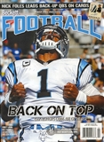 2014 Beckett Football Monthly Price Guide (#277 February) (Cam Newton)