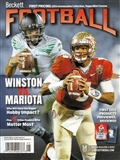 2015 Beckett Football Monthly Price Guide (#292 May) (Winston V Mariota)