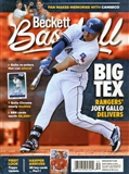 2015 Beckett Baseball Monthly Price Guide (#113 August) (Joey Gallo)