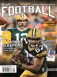 2015 Beckett Football Monthly Price Guide (#290 March) (Green Bay Packers)