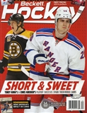2013 Beckett Hockey Monthly Price Guide (#256 December) (Krug/Kreider)