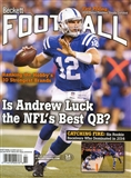 2015 Beckett Football Monthly Price Guide (#289 February) (Andrew Luck)