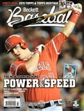 2014 Beckett Baseball Monthly Price Guide (#104 November) (Mike Trout)
