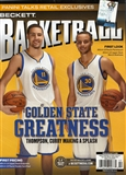 2015 Beckett Basketball Monthly Price Guide (#269 February) (Golden State Greatness)