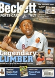 2015 Beckett Sports Card Monthly Price Guide (#360 March) (Legendary Lumber)