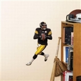 "Fathead Ben Roethlisberger Pittsburgh Steelers Teammate Player Wall Graphic 10""x16.5"""