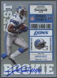 2010 Playoff Contenders #217B Jahvid Best White Jersey Rookie Autograph