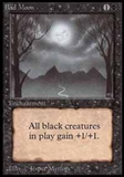 Magic the Gathering Beta Single Bad Moon - SLIGHT PLAY (SP)