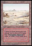 Magic the Gathering Beta Single Badlands - SLIGHT PLAY (SP)