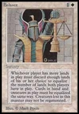 Magic the Gathering Beta Single Balance - NEAR MINT (NM)