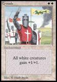 Magic the Gathering Beta Single Crusade - SLIGHT PLAY (SP)