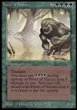 Magic the Gathering Beta Single Force of Nature UNPLAYED (NM/MT)