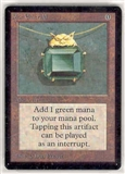 Magic the Gathering Beta Single Mox Emerald UNPLAYED (NM/MT)