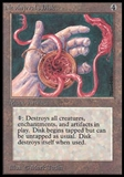 Magic the Gathering Beta Single Nevinyrral's Disk - SLIGHT PLAY (SP)