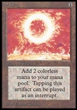 Magic the Gathering Beta Single Sol Ring UNPLAYED (NM/MT)